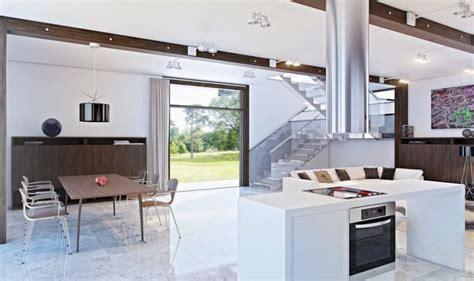 cuisine 15m2 ilot centrale top cuisine ouverte sur salon moderne ilot central blanc