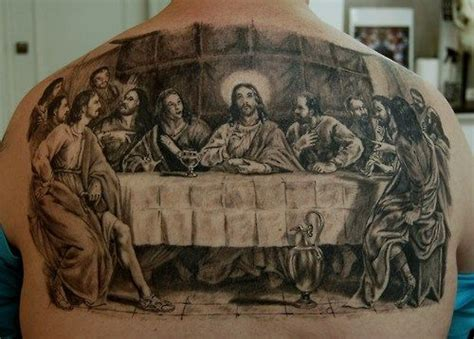 last supper tattoo the last supper tattoos