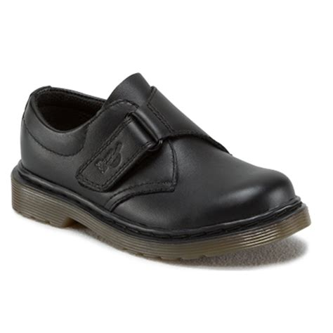 school shoe dr martens dr martens sammy black shoe easy on