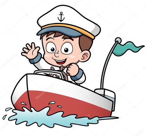 boat cartoon marine boy driving boat stock vector 169 sararoom 29188039
