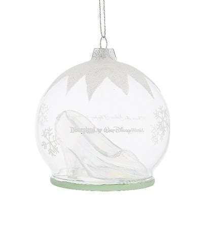 cinderella glass slipper ornament disney ornament cinderella glass slipper