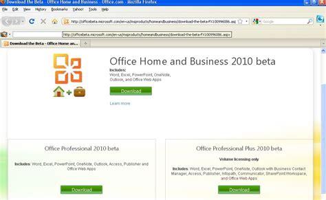 free microsoft office 2010 beta version