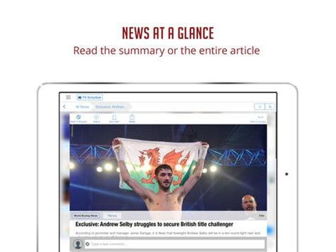 best boxing news app boxing news sportfusion screenshot