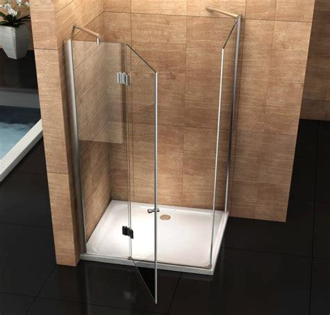 costo box doccia cristallo box doccia in cristallo con apertura a battente esterna quot 049 quot