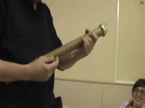 como hacer una trompeta de carton viol 237 n de cart 243 n youtube