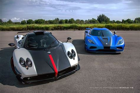 gentleman koenigsegg pioneering an aging pagani and koenigsegg
