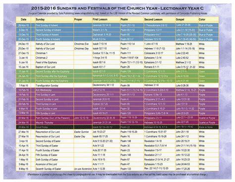printable liturgical year calendar methodist liturgical colors printable calendar template 2018