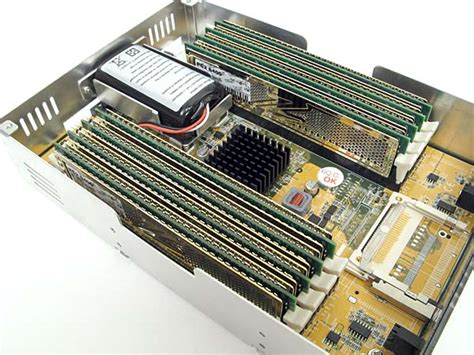Ram Disk acard s ans 9010 serial ata ram disk the tech report page 1