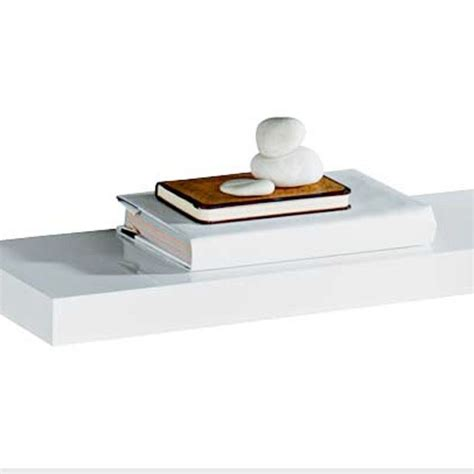 10 Floating Shelf by High Gloss Floating Shelf From Argos Floating Shelves 10 Of The Best Housetohome Co Uk