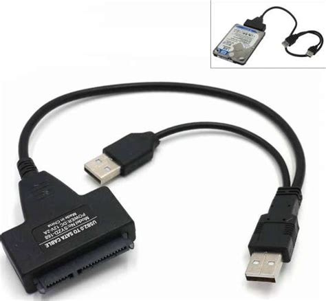 Hdd Ata Laptop 2 5 sata to usb 2 0 cable serial ata adapter for hdd ssd laptop drive syzd 168 buy