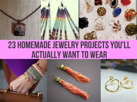 How To Make Handmade Jewelry At Home - 23 jewelry projects you ll actually want to wear