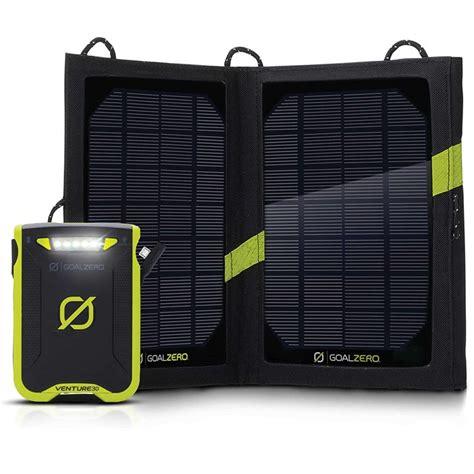 Goal Zero Venture 30 Solar Kit Nomad 7 Solar Panel Outdoor Garansi goal zero venture 30 solar recharging kit evo