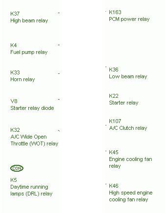 pcm power relay circuit wiring diagrams