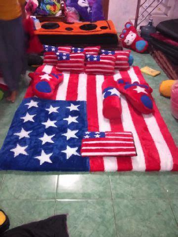 Karpet Bulu Korea Shaggy Karpet Velvet Anti Skid 100x150cm karpet karakter motif bendera amerika karpetkarakter co