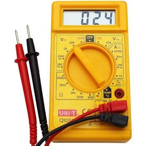 Probe Multimeter digital mutimeter voltage current resistance meter