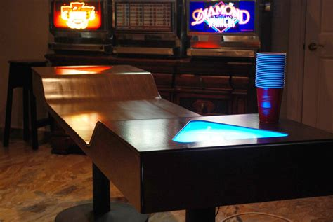 custom light up pong tables add a taste to the