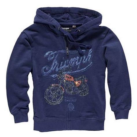 Hoodie Triumph Motorcycles Lp todd motorcycle zip thru hoodie triumph motorcycles