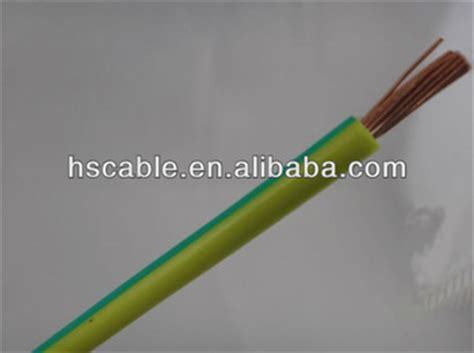 h07v k yellow green pvc earth wire buy pvc earth wire