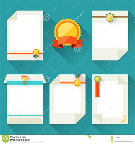 Trophy Card Template by Certificate Templates With Trophies And Awards Stock
