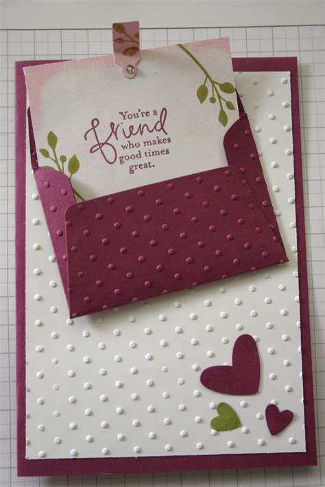 Handmade Card - maroon and new handmade cards ideas trendy mods