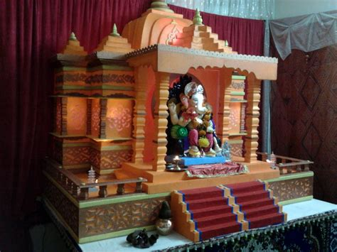 ganpati decoration at home ideas god wallpapers chainimage