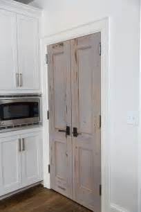Kitchen Closet Doors Cypress Bi Fold Pantry Doors Transitional Kitchen
