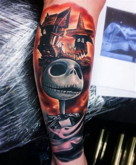 all white tattoos 40 cool nightmare before tattoos designs