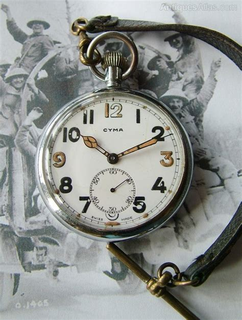 army trade pattern watch antiques atlas ww2 cyma military pocket watch and albert