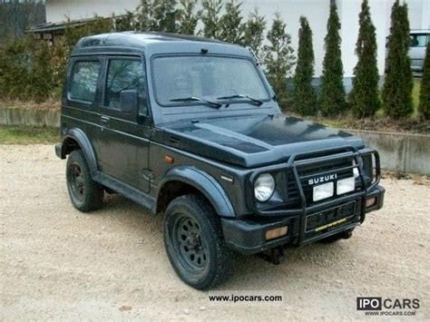 1989 Suzuki Sidekick 1989 Suzuki Samurai Information And Photos Momentcar