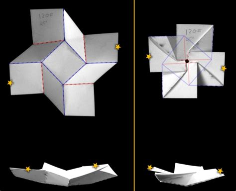 Creative Folding Paper - bistable origami and degrees of freedom itai
