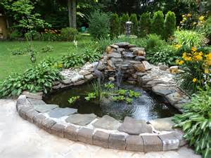 Patio Pond Backyard And Pond Project Redo It Yourself Inspirations