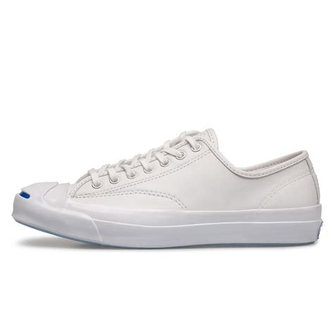 white sneakers for converse purcell signature ox white leather sneakers
