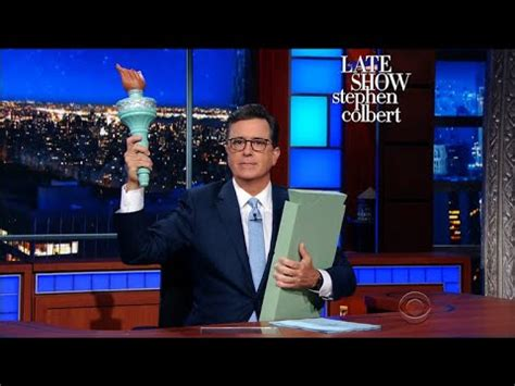 Stephen Colbert No Fattie Send Me Mba Tax by Give Me Your Wealthy Your Rich Your Huddled Mbas
