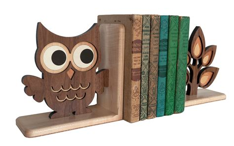 Handmade Wooden Bookends - handmade classic wooden animal bookends for baby