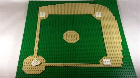 how to build a baseball field in your backyard how to build a lego baseball field youtube