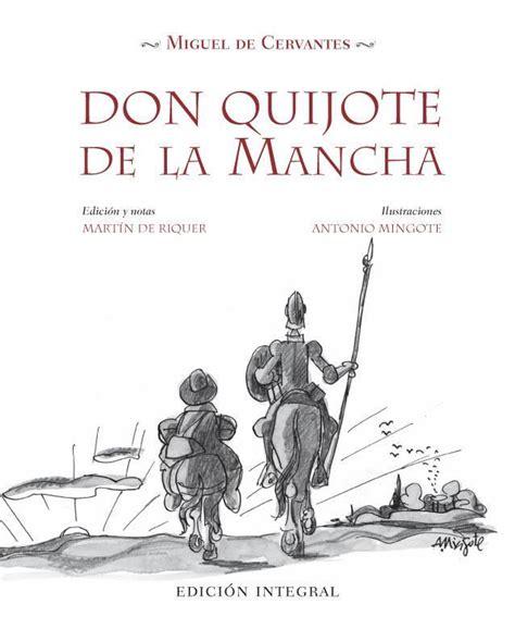 libro el libro de don don quijote de la mancha 4 volumenes ilustrados por antonio mingote edicin y notas martin de