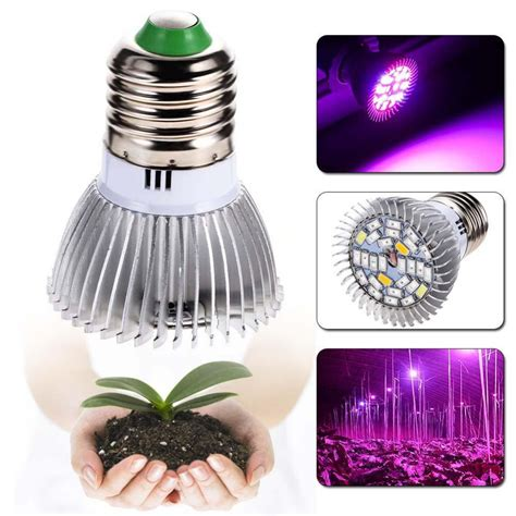 plant grow light bulb garden plant e27 18 28 led grow light bulb spectrum