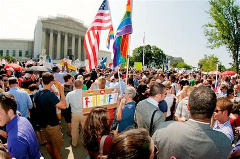 supreme court ruling on doma supreme court pushes nation one step closer to