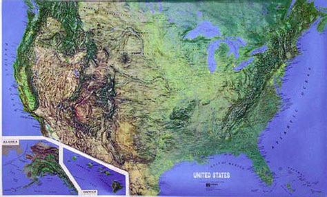 topographic maps usa raised relief maps 3d topographic map united states series