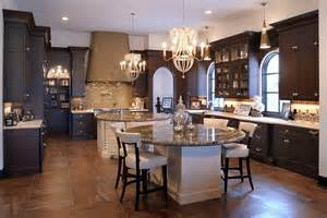 levant elegant kitchen with dual round islands island contemporary lookround