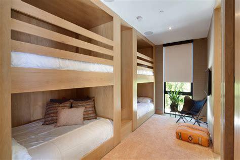 contemporary bunk bed contemporary bunk bed guest room contemporary