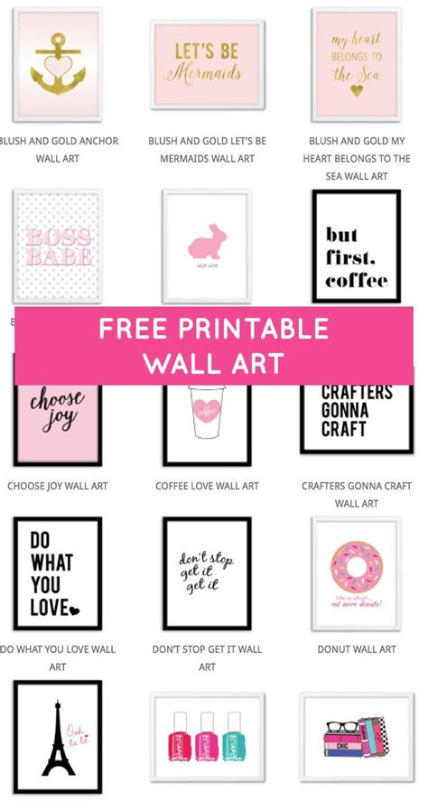 printable home decor 25 best free printable quotes ideas on