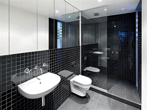 Modern Bathroom Design Malaysia Ba 241 O En Blanco Y Negro Global Projects