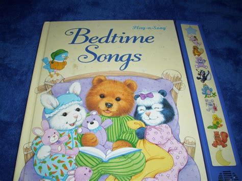 bed time songs play a song bedtime songs hardcover