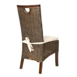 chaise en rotin tress 233 chaise en acajou chaise de salon