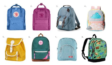 7 Bags For Back To School by Back To School Backpacks And A Few Montessori Tips How