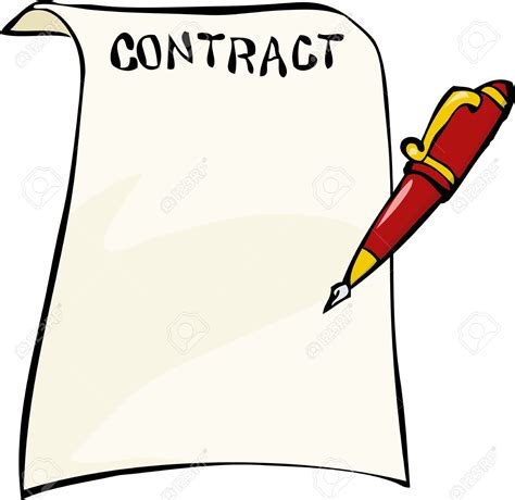 contracts  clipart cliparts