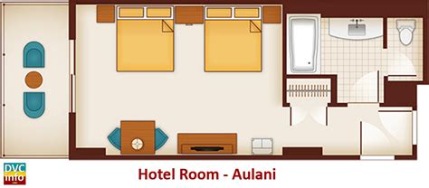 aulani hotel room layout aulani a disney resort spa dvcinfo