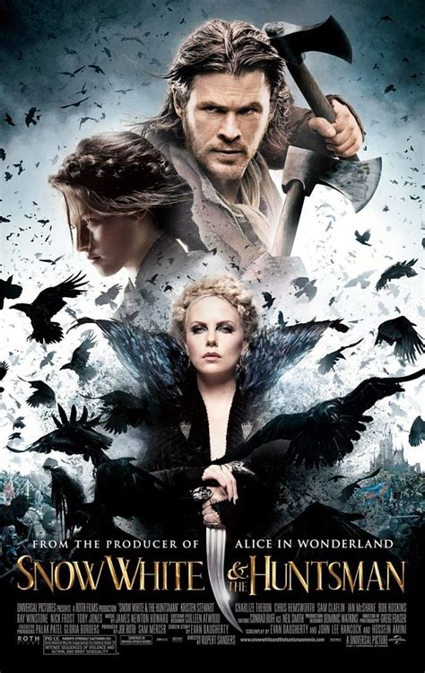 film fantasy a voir snow white and the huntsman movie clip and poster collider