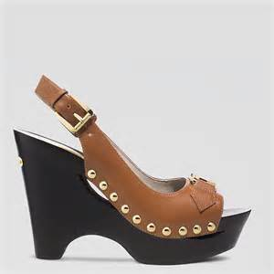 michael michael kors shoes charm platform wedge sandals snap n zip fashion accessories michael michael kors